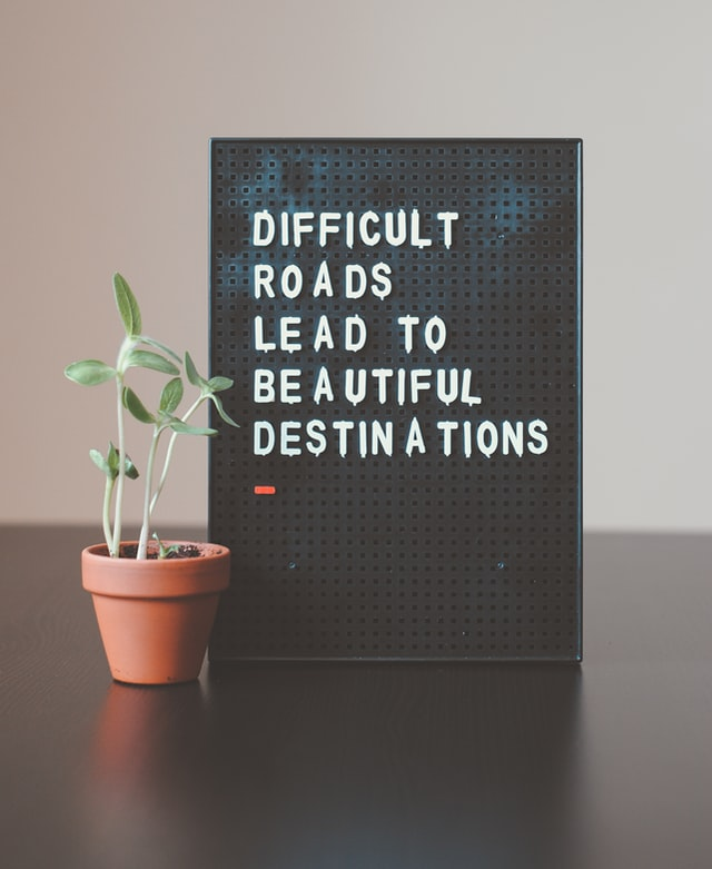 A difficult road leads to beautiful beginnings